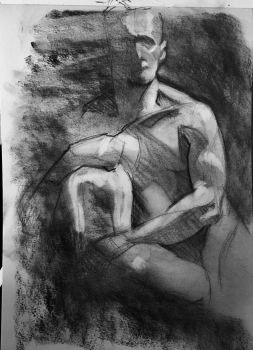 Life Drawing 2 - Charcoal - 20 Minutes by bris1985