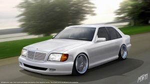 mercedes benz 600 sel by nordic-man
