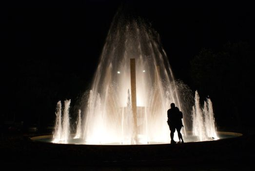 Fountain Couple 1 by eftichis