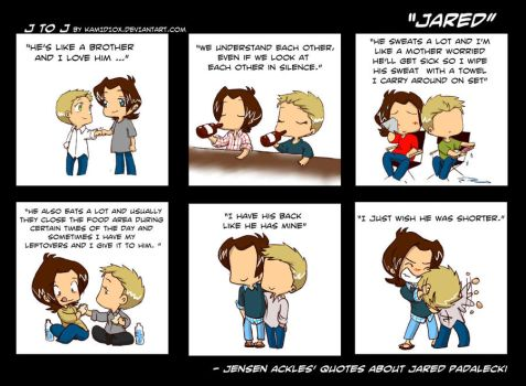 J to J: Jared by KamiDiox