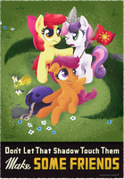 Make Some Friends by sofas-and-quills