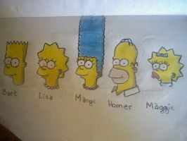 Les simpsons by Guillaume-Esteban