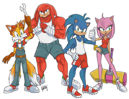 Sonic Boom I guess by day-vii