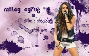 Miley Cyrus Widescreen Wall by Shottis