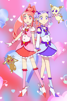 Doki Doki PreCure by Lady-Moth