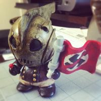 Rocketeer - Mini Munny by mikeoncley