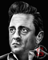 Johnny Cash by ScOttRa