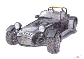 1306 - 30-10 - Caterham 7 by TwistedMethodDan