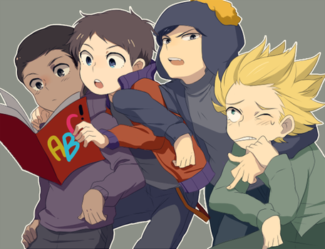 SP :: Team Craig by Cartooom-TV