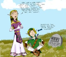 Navi's Eulogy by Zelda-Fanatics