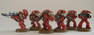 Blood Ravens Space Marines by KB-Unlimited