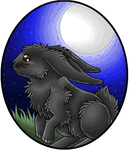 Midnight Bunny by Okami-Dragon