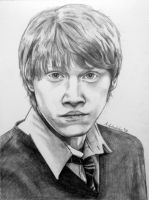 Ron Weasley by NuclearKitty