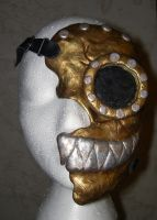 Steampunk Cheshire Cat Mask by Smiling-Moon