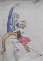 Jelsa - Love born on ice by SofijaKpop18
