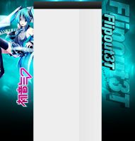 Hatsune Miku Youtube BG 2 by AngelDesigns2013