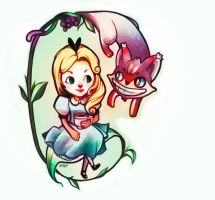 Alice in Wonderland by happip
