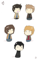Supernatural blobs by Nomy-chan