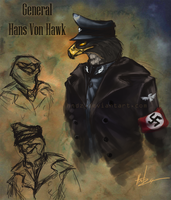Soldiers: General Hawk by Hndz