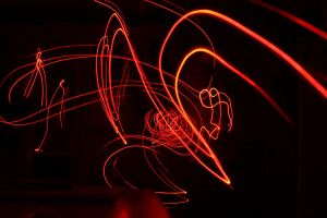 Lightpainting Surreal Lights by YunakiDraw