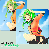 Action -Green- 1 by HoldSmile