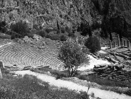 Ancient theater by inspirationcalls