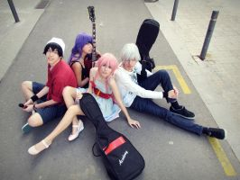 Mirai Nikki Rocker Cosplay by Amiranne