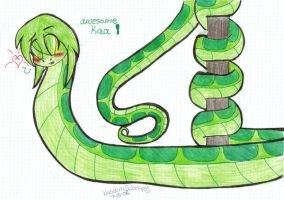 TJB-Just Kaa by Garfield141992