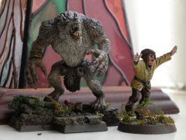 Werewolf Conversion Painted A by theoggster