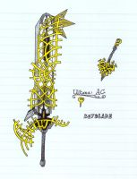 Ultima: AC Keyblade by Lycanstrife