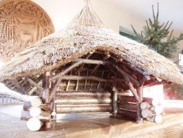 gardenhome in model by woodcarve