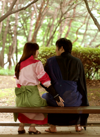 Cosplay- Inuyasha: Miroku and Sango butt slap LOL by CinnamonRing