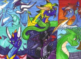 .:The six of us:. by Silver-HeartCrosser