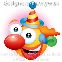 How to Use Basic Shapes Clown by SET07