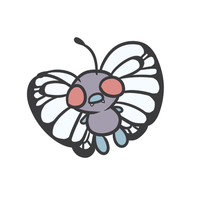 012 butterfree by pinkbunnii
