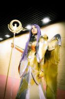 Athena Armor Cosplay by Laia-pink