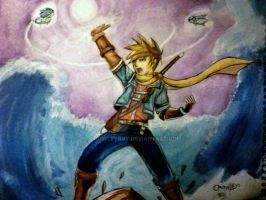 Golden sun Mattew by crowleyboy