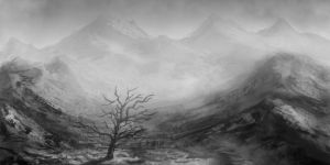 Speed Sketch: Gray Mountain by rickystinger88