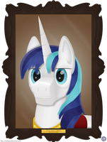 Shining Armor Portrait by MisterJuly