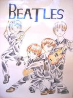 Beatles by Glasscherry