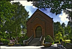 Graveyard Chapel by Thrife