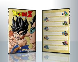 DBZ Collection - DVD1 by isa-pinheiro