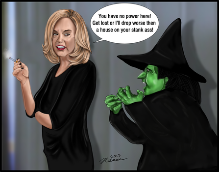 American Horror Story Coven meets The Wizard of OZ by darkmagistric
