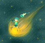 Comet Rider by CuteReaper