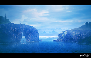 Coasts Of Norway (Matte paint) by ebalint96