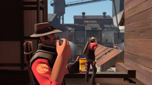 [SFM] A Normal morning on 2Fort by DJpoint