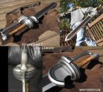 Drakengard 2- Caim's sword by fevereon