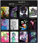 2015 Art Summary by cheapkrabs