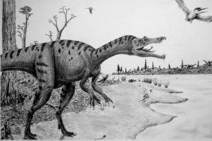 Baryonyx by Frank-Lode