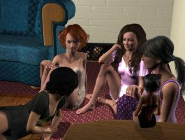 Scene from Operation:  Sleepover by areg5